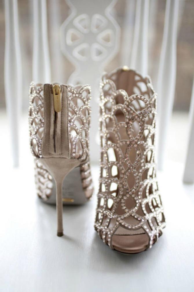 cipele za venčanje4 Ove cipele za venčanje će izazvati vau efekat