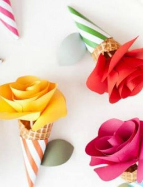 Cveće od papira je novi trend u dekorisanju venčanja