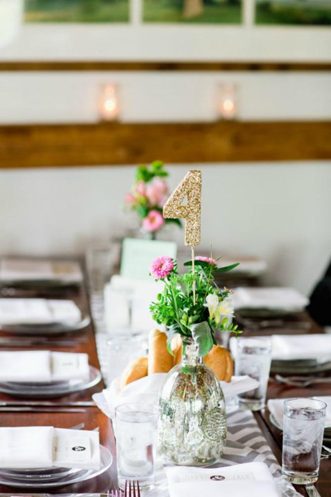 dekoracija stolova za venčanje jarkih boja1 Dekorišite stolove jarkim bojama ovog leta