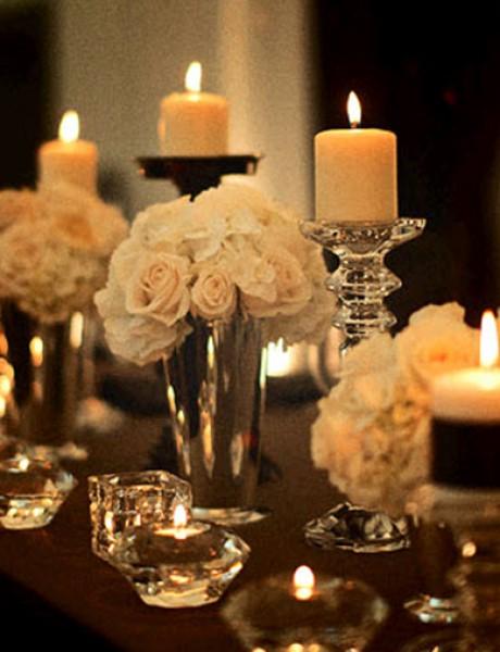 Dekorativne sveće za venčanje ulepšaće svaku prostoriju