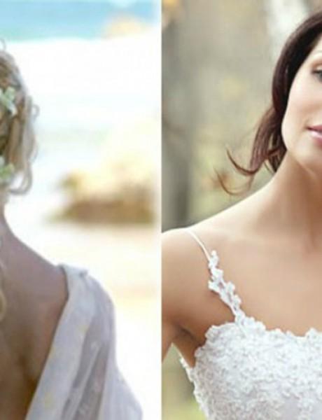 Izberite frizuru za venčanje prema vašem tipu kose