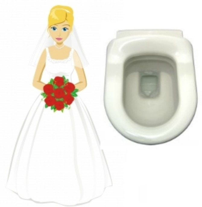 mlada u taoletu Bizarni običaji sa venčanja širom sveta koji važe i danas