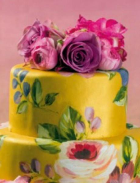 Ručno oslikane i ukrašene mladenačke torte