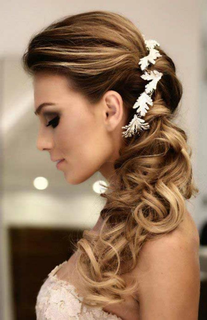 svečane frizure za venčanje2 Savršena frizura za mladu