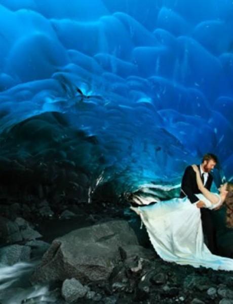 Neverovatne fotografije nastale unutar glečera i ledene pećine