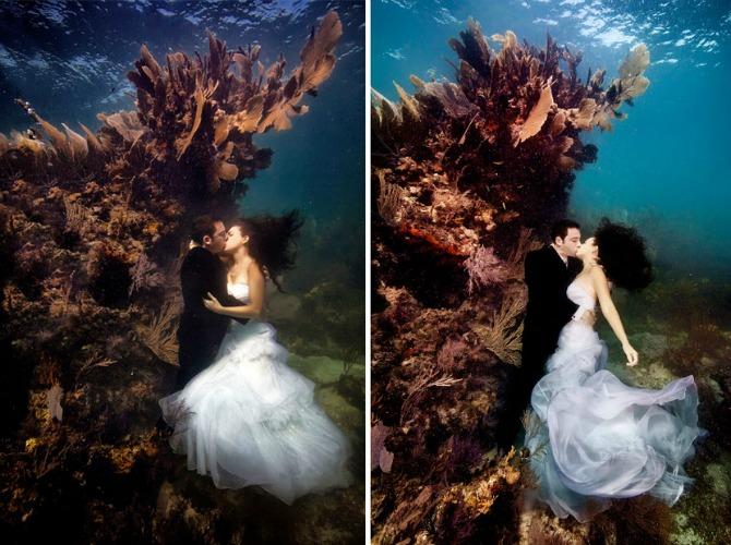 venčanje pod vodom Doživite magiju venčanja pod vodom