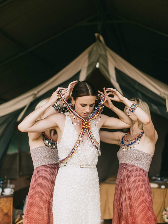venčanje u keniji Zadivljujuće venčanje u divljini Kenije