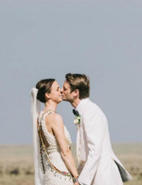Zadivljujuće venčanje u divljini Kenije