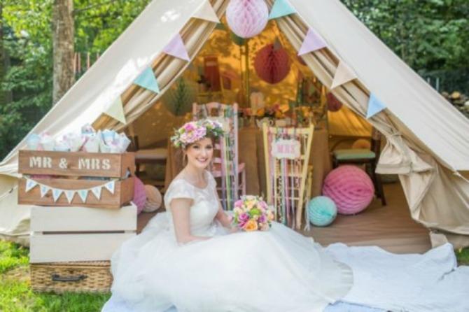venčanje u pastelnim bojama Harmonija pastelnih boja