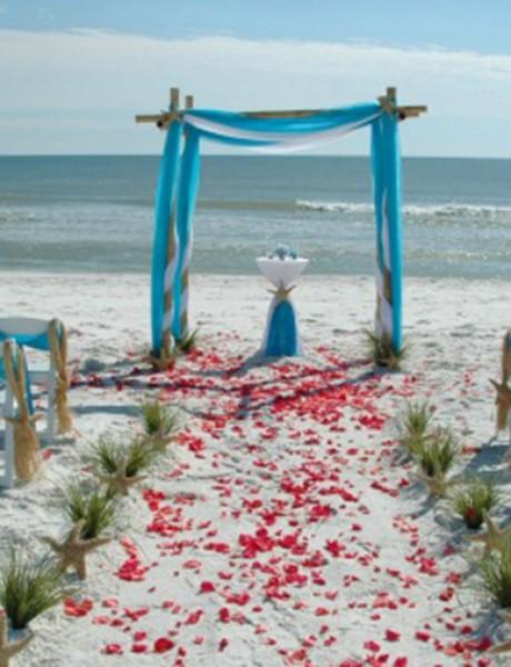 """Poznati koji su izgovorili """"da"""" na plaži"""