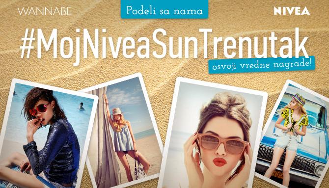 Fotokonkurs Nivea W 670 Wannabe nagradni konkurs: Moj Nivea Sun trenutak