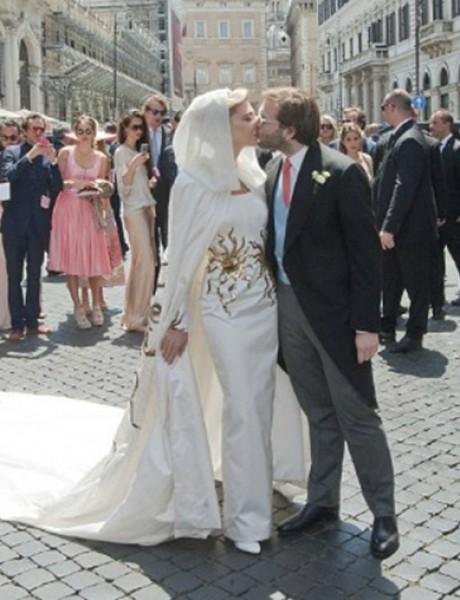 Venčanje u Rimu poznate dizajnerke