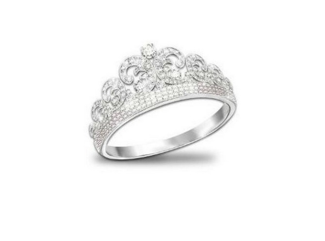Tijara u obliku prstena Vrste tijara za venčanje