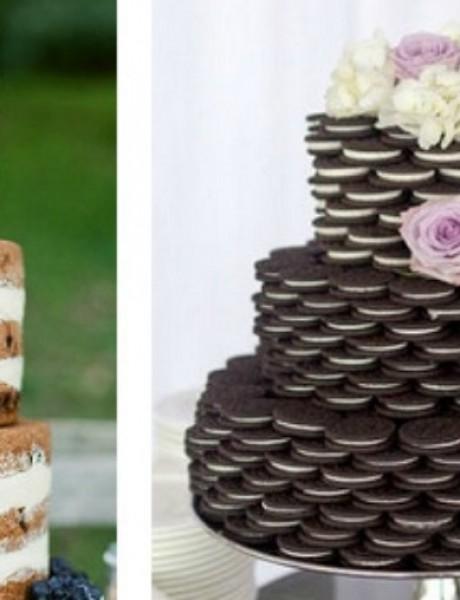 Neodoljive biskvit torte za vaše venčanje