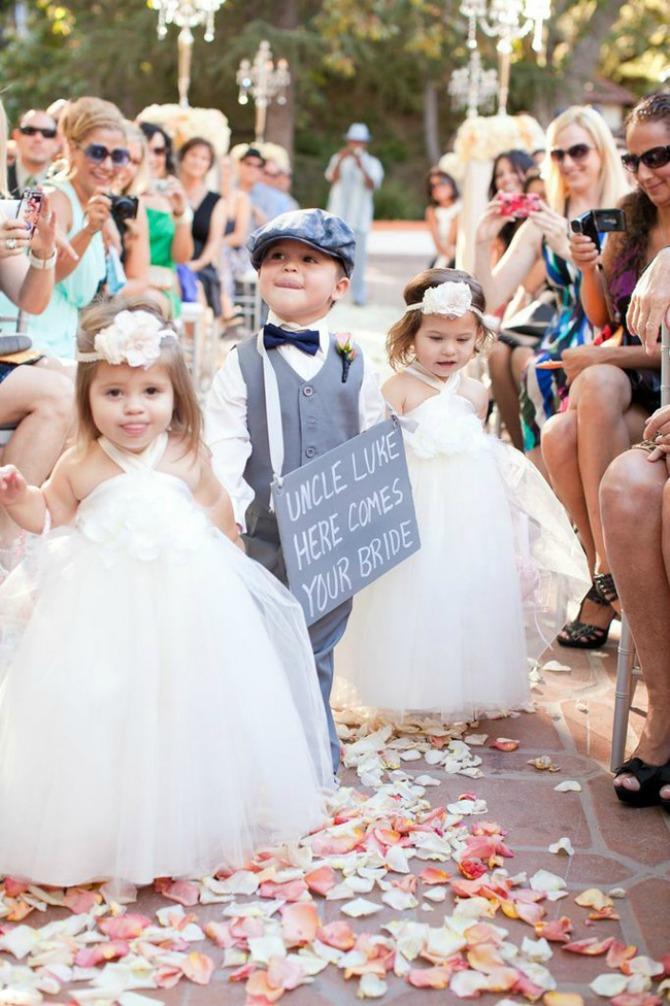 deca na venčanju Ovih pravila moderni mladenci (ne)moraju da se pridržavaju!