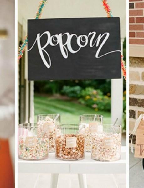 Kokice – neobičan detalj i ukras na venčanju!