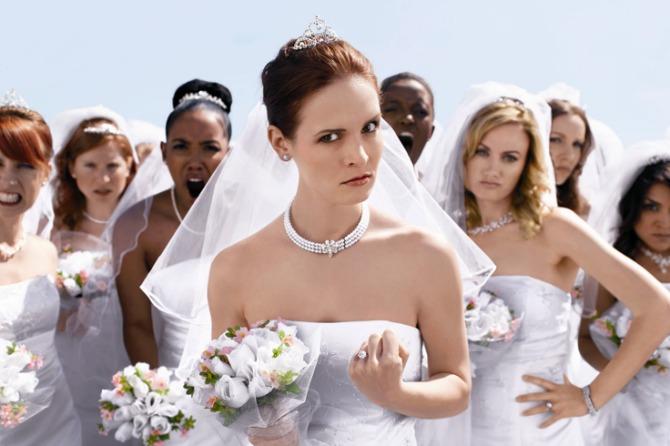 ljuta mlada Šta nikako ne smete da uradite pred gostima na venčanju