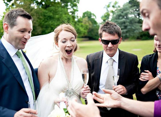 mađioničar na venčanju Zabavite goste na venčanju