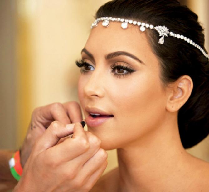 mlada kim kardašijan Izbegnite greške kada se šminkate za venčanje