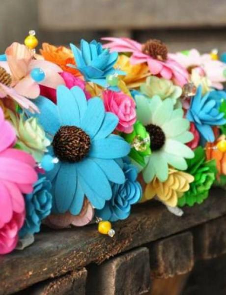 Obojite venčanje duginim bojama