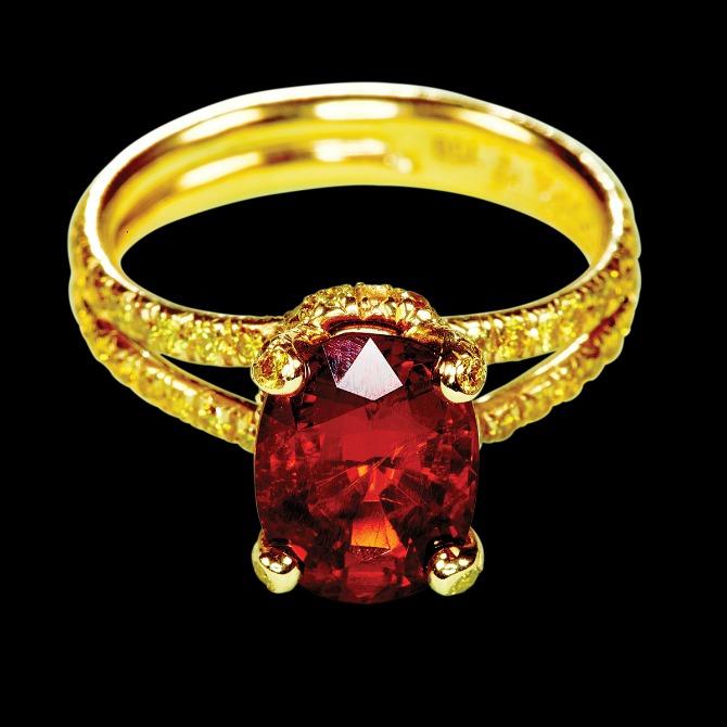 verenički prsten u boji Najlepše vereničko prstenje u boji