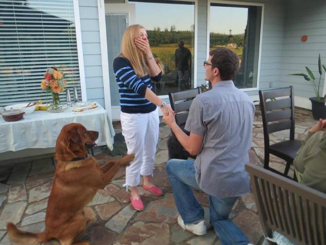 zaprosi je uz pomoć psa3 Zaprosi je uz pomoć...psa!