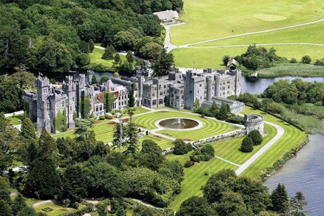 Ashford Castle Irski dvorci iz bajke za vaše venčanje