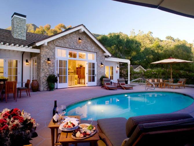 San Ysidro Ranch Santa Barbara Kalifornija Najskuplji medeni mesec poznatih ličnosti