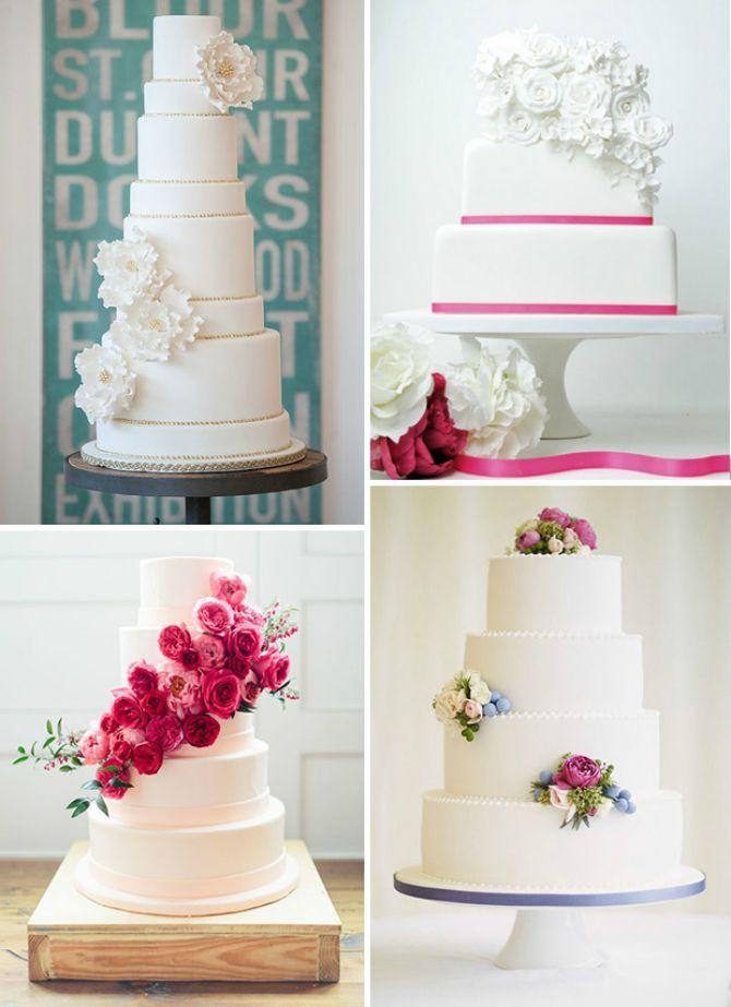 cvetne torte Najlepše mladenačke torte ukrašene cvećem