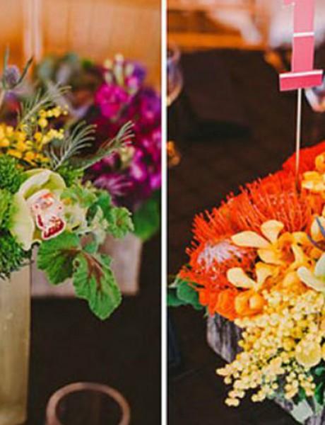 Dekorišite venčanje veselim bojama