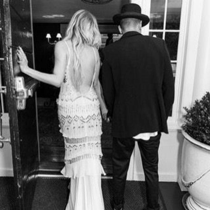 esli simpson vencanje Venčanje Ešli Simpson i Evana Rosa u boho stilu