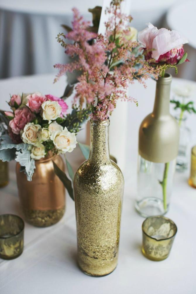flase kao dekoracija za vencanje Ukrasne flaše kao dekoracija za venčanje