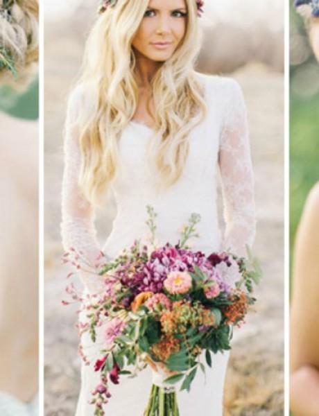 Kako da izabereš frizuru za letnje venčanje?