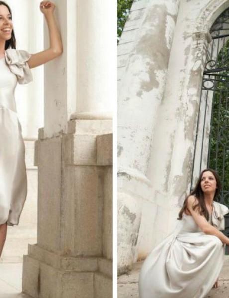 Venčanice Marije Šabić: Haljina u boji slonove kosti