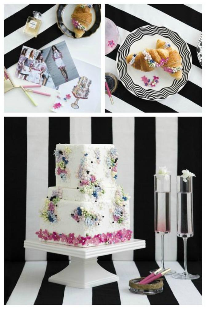 mladenacke torte inspirisane cuvenim kreatorima chanel Mladenačke torte inspirisane Nedeljom mode