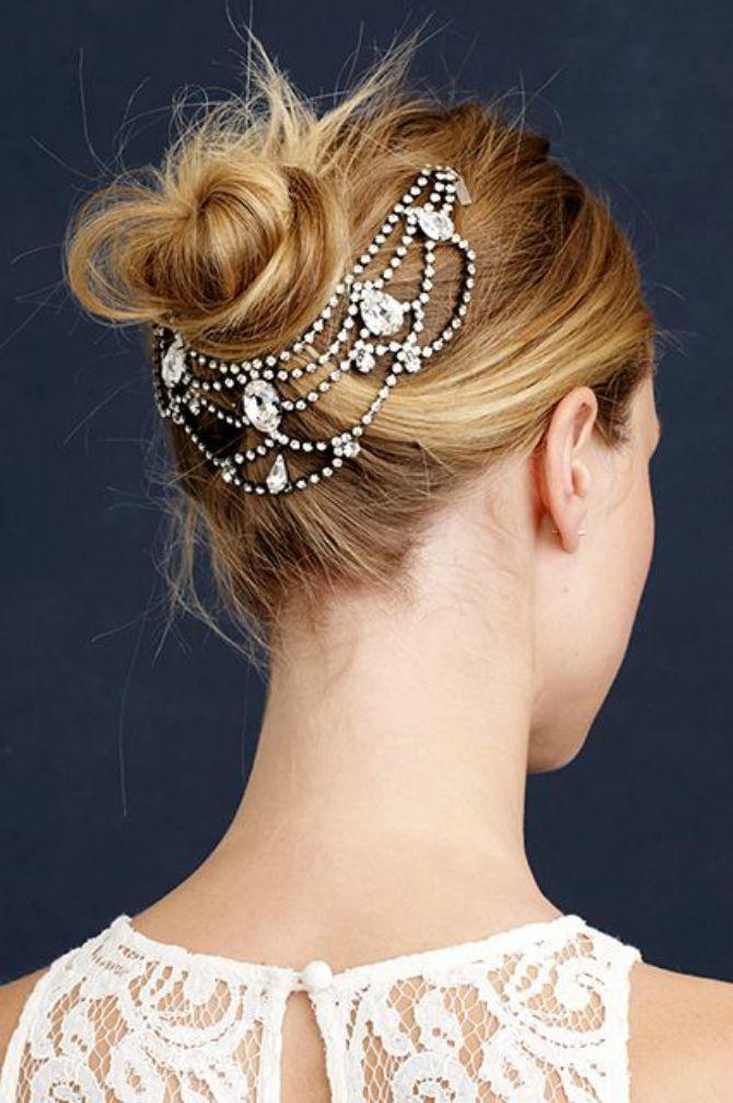 nakit za kosu za mladu2 Ukrasi kosu modernim aksesoarima
