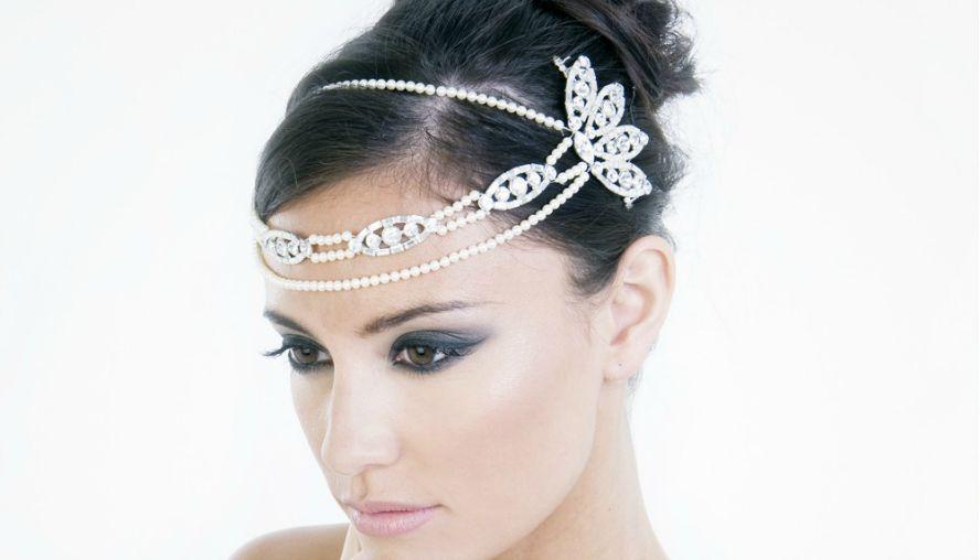 nakit za kosu za mladu4 Najbolji saveti: Kako da odaberete nakit za venčanje