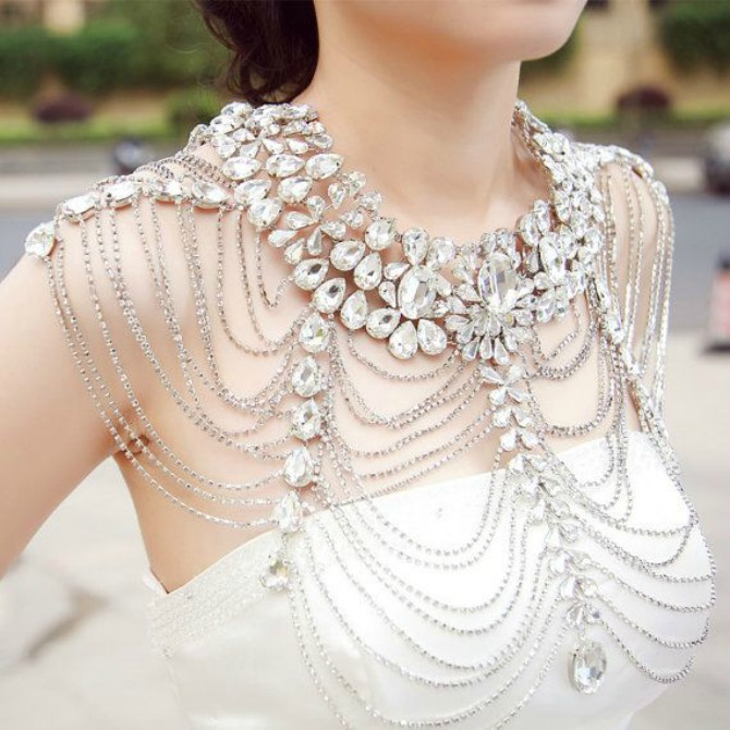 nakit za mladu12 Elegantan nakit za mlade od stila