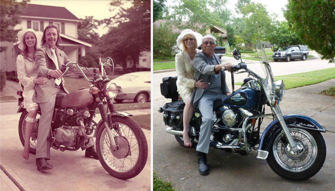 par proslavio 40 godina braka21 Par koji je proslavio 40 godina braka na inspirativan način