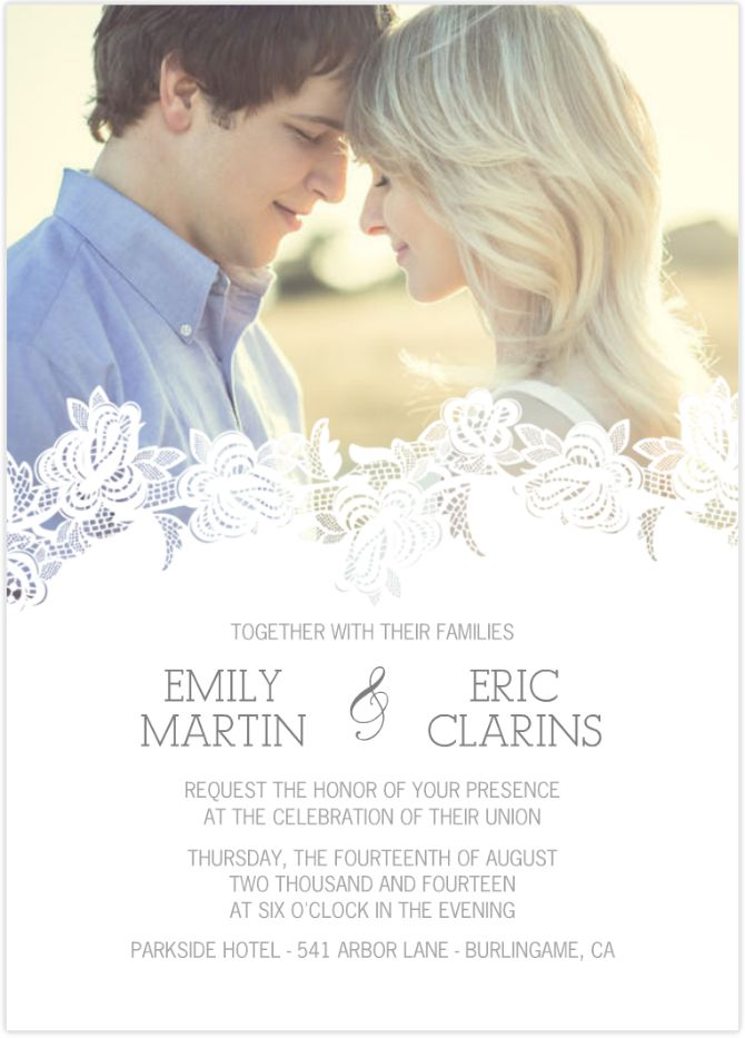 pozivnica za vencanje Vežene pozivnice za venčanje