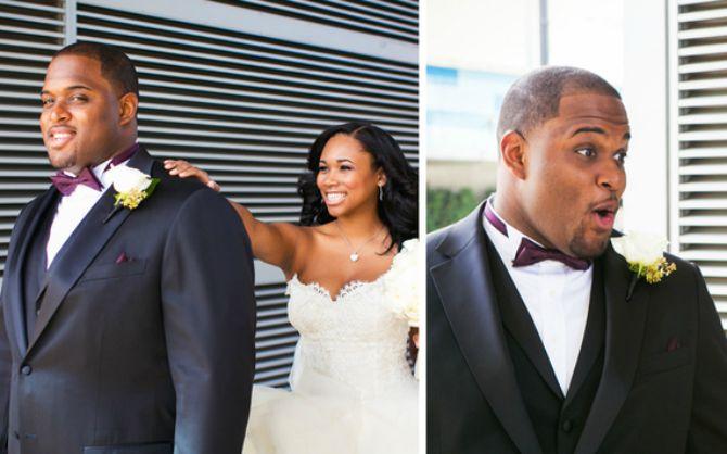 reakcija mladoženje kad vidi mladu prvi put u vencanici11 Kako mladoženja reaguje kada ugleda mladu u venčanici
