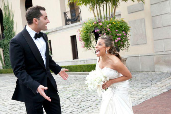 reakcija mladoženje kad vidi mladu prvi put u vencanici2 Kako mladoženja reaguje kada ugleda mladu u venčanici
