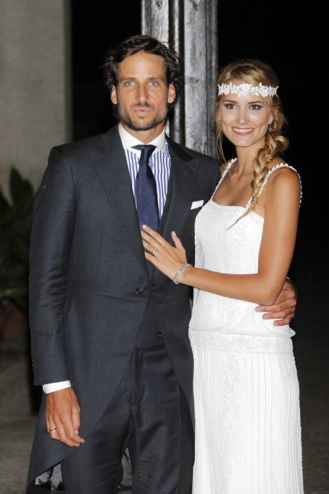 vencanje felisijana lopeza Oženio se teniser Felisijano Lopez