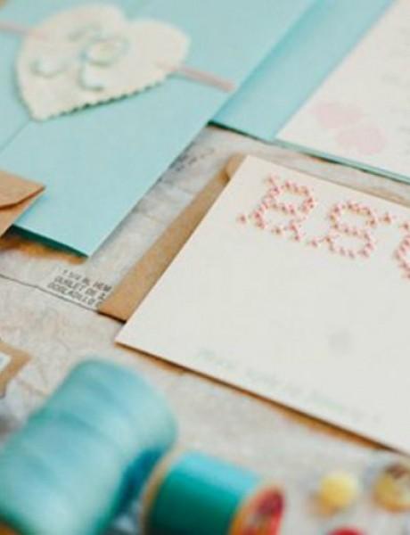 Vežene pozivnice za venčanje