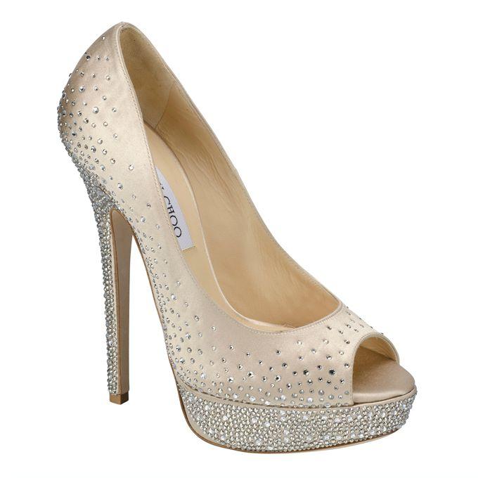 wannabe ag Idealne cipele za odgovarajući model venčanice