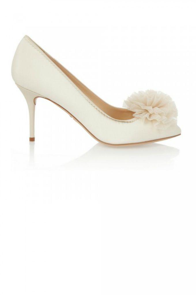 wannabe mag niske cipele Idealne cipele za odgovarajući model venčanice