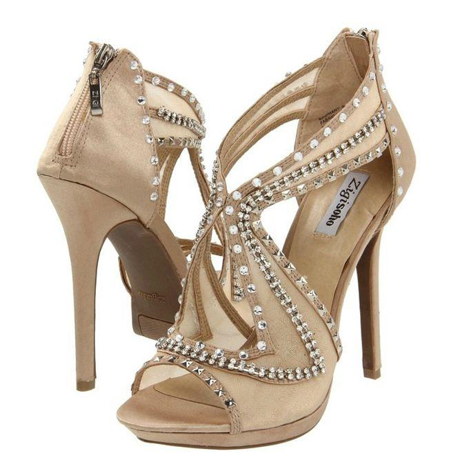 wannabemag1 Idealne cipele za odgovarajući model venčanice