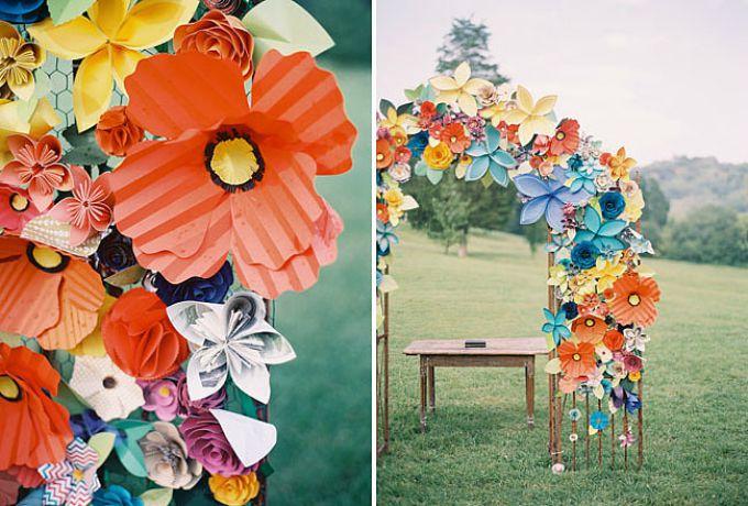wannabemag2 Dekorišite venčanje veselim bojama