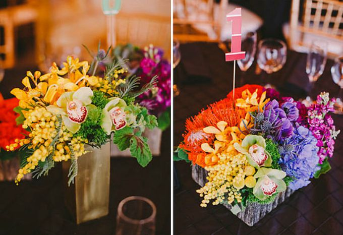wannabemagazin Dekorišite venčanje veselim bojama