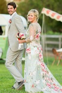 Bajkovito venčanje američke glumice Dženi Gart